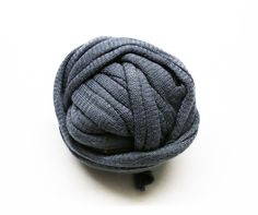 Jersey Yarn ball, 2,30 yards, no knots, grey, gray, bags, jewelry, bracelets, necklaces, accessories #design #giftideas