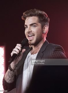 Musician Adam Lambert performs live in concert supporting his 'The Original High' Album Release Party at iHeartradio Performance Theater on June 16, 2015 in New York City.