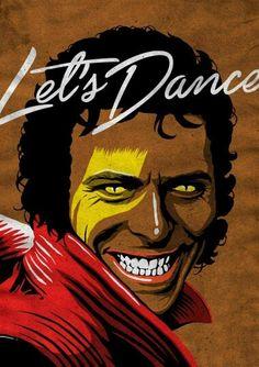 Let's Dance DB/MJ #aladdinsane ☆ Pop Juggernaut by Butcher Billy on tumblr
