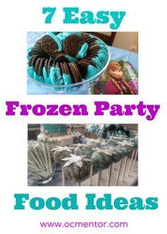 7 Easy Frozen Party Food Ideas - OCMentor