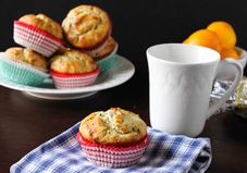 Recipe: Healthier Meyer Lemon Chia Seed Muffins
