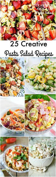 25 Creative Pasta Salad Recipes