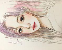 더  아름답게 그리고 싶다. - - - - - #illustagram #illustration #design #색연필#손그림#낙서#캐릭터#draw #drawing #sketch #sketchbook #instaartist#그림#instagood #낙서타그램#art#artwork#일러스트#캐릭터#character#illust#イラスト#dailydrawing#eye