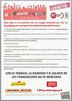 REDACCIÓN SINDICAL MADRID: Éxito total en los primeros días de Huelga convoca...