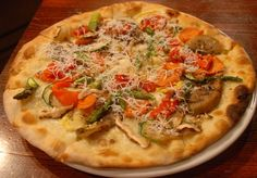 Wood-fired Puglian-style pizza @ Chicago's Macello Italian restaurant!!