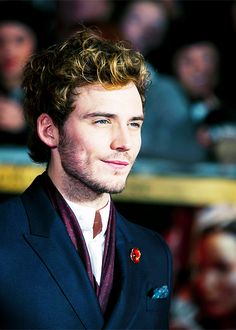 He is just so adorable. Mr. Sam Claflin, ladies and gents.