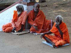 Momento em um Templo no sul da Índia.