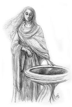 Галадриэль  Galadriel's Mirror » Jef Murray Studios