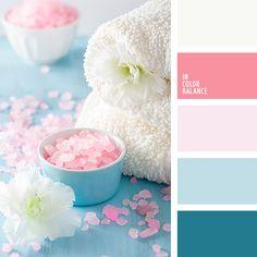 Color Palette bottom blue for curtains? Palettes Color, Pastel Colour Palette, Colour Pallette, Pink Palette, Turquoise Color Palettes, Shades Of Turquoise, Pink Turquoise, Teal Color Schemes, Color Combos