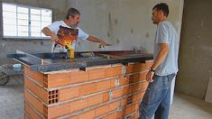 Bbq Grill, Ping Pong Table, Brick, New Homes, House Design, Storage, Kitchen, Furniture, Youtube