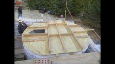 Making a Sandbag / Earthbag Rainwater Cistern...