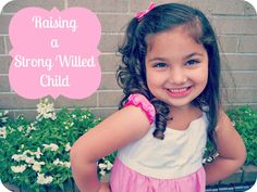 The Educators' Spin On It: Raising a Strong Willed Child: We Get It Series  Very Good article with tips for my adorable red headed strong willed grand daughter!