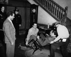 On the set of Arsenic and Old Lace (1944)