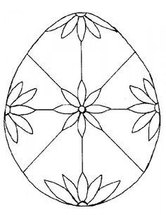 14 Best Easter Egg Designs Images Easter Egg Coloring Pages