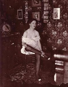 A prostitute in New Orleans's Storyville red light district
