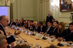 Faurie presidió hoy una reunión con representantes de los gobiernos provinciales