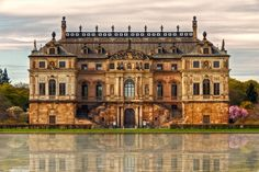 Sommerpalais -- The Palace at Grand Garden in Dresden