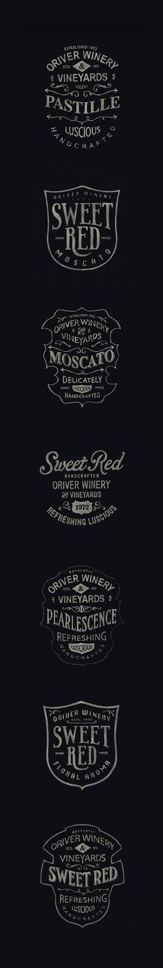 Label Project by BMD ..., via Behance