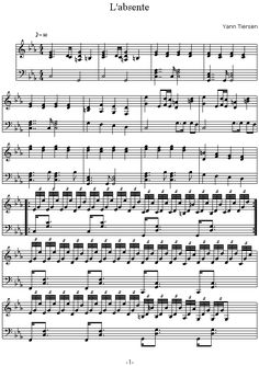Özel Piyano Dersi: Yann Tiersen - L'absente Piyano Notaları