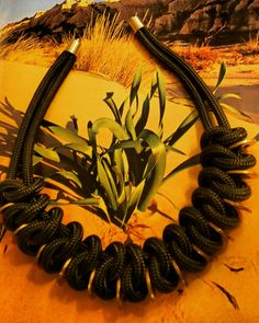 Wüstensand - Kette aus Reepschnüren