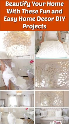Beautify Your Home With These Fun and Easy Home Decor DIY Projects