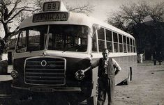 Busses, Athens, Old Photos, Transportation, Greece, Life Magazine, Memories, Old Pictures, Greece Country