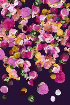 Print from a media floral painting Printed on Fine Art Bright White 100% acid free cotton rag with pigmented archival inks. Options Available as just the print, or with a custom frame. Click here to v