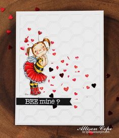 """Bee Mine? by Allison Cope.  Featuring """"Bee Mine"""" by Mo Manning."""