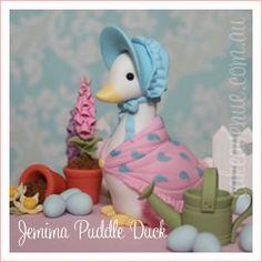 Jemima Puddle Duck figurine