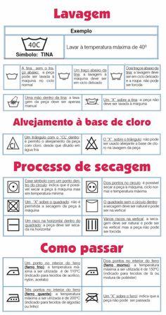 lavanderia símbolo lavagem significado etiqueta roupa