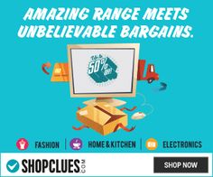 Shopclues Discount Coupon: Shop Online for the biggest range of Mobile Phones, Laptops, Home Appliances, Electronics, Fashion, Shoes and Home & Kitchen products at the lowest Prices.  http://www.signindeals.com/store/shopclues/ #shopcuescoupons #shopcluesdiscountcoupon #shopclues