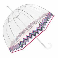 Totes Zigzag Bubble Umbrella - Click to enlarge