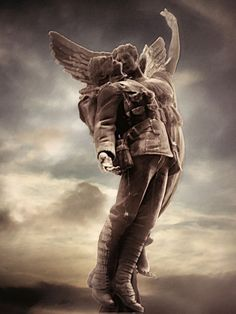 cemetery/ beautiful statue ,says it all for the fallen . Cemetery Angels, Cemetery Statues, Cemetery Headstones, Old Cemeteries, Cemetery Art, Angel Statues, Graveyards, Statue Ange, Angel Sculpture