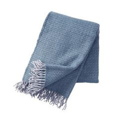 The classic Fogg wool throw from Klippan Yllefabrik is made of a mix of Gotland wool and brushed lambswool. The mix of the two creates a lush, warming throw that is wonderful to cuddle up in on chilly evenings. Available in different colors. Blue Throws, Fleece Throw, Scandinavian Design, Two By Two, Plaid, Pillows, Cushions, Blanket, Cactus