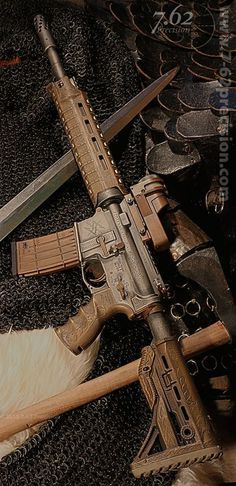 Beowulf Viking Rifle Custom AR-15 - Amazing.