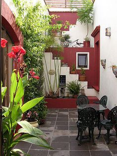 Dream Patio /Shalu's Home/Collectivitea Outdoor Rooms, Outdoor Living, Mexican Garden, Rustic Patio, Design Exterior, Outside Living, Decks And Porches, Small Patio, Backyard Patio