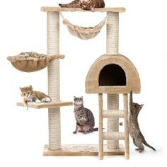 Happypet® CAT018 Kratzbaum Katzenbaum mittelhoch 1,00 hoch Beige von Happypet, http://www.amazon.de/dp/B004SNDAJ8/ref=cm_sw_r_pi_dp_n9ORsb0DN3FXH