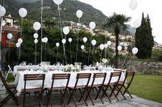 adorable  white balloons