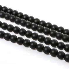 Hot Sale 4 6 8 10 12mm Natural Onyx Loose Round Stone Beads For Diy Jewelry Necklace