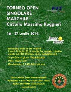 Gianluca Di Nicola vince il Torneo di Tennis Open del Circuito Massimo Ruggieri di Vasto