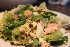 super easy, yummy, paleo tuna salad