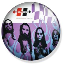 chapas de Hellacpters Hellacopters rock band buttons