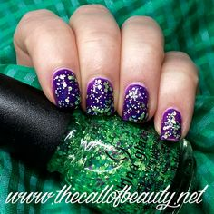 The Call of Beauty: ABC Challenge: China Glaze Can I Get an Untz Untz layered
