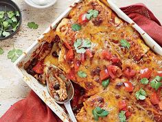 20-Minute Chicken Enchiladas