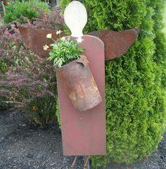 Angel Perhaps Geoffrey Robichaux Abney Can Weld Me One Rusty Garden