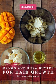 Recently, I was suffering from fry hair. And my hair wasn't growing as fast as I want. So, I decided to make a hair mask that will make my hair stronger and speed up the growth.   While I was thinking of which ingredients I can use for this mask, I came up with this amazing idea. Mango and shea butter for hair growth.  #homemade #diy #hairgrowth #haircare #EasyPromHairstyles Hair Butter Recipe, Mango Butter For Hair, Best Diy Hair Mask, Fried Hair, Hair Mask For Damaged Hair, Simple Prom Hair, Hair Care Recipes, Healthy Hair Tips, Hair Health