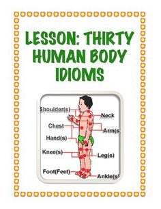 Lesson: Thirty Human Body Idioms from Stuck in the Middle on TeachersNotebook.com -  (4 pages)