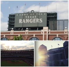 Home of the Texas Rangers- a day by the pool then off to the baseball game.
