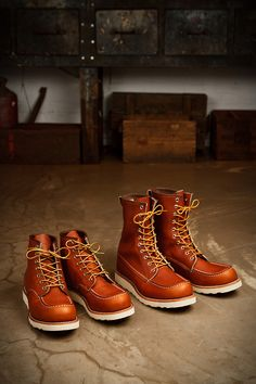 Red Wing Heritage 875 and 877 Sixty-one years after Red Wing...