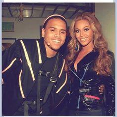 Beyonce & Chris breezy <3